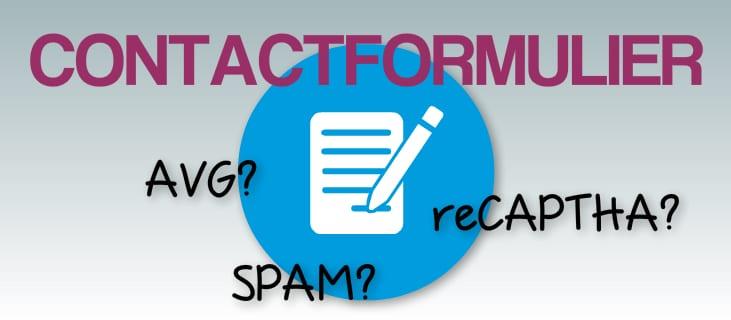 Contactformulier je website kan niet zonder avg