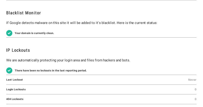 website onderhoud rapport